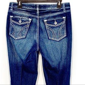 9.8 Premium Jeans - 9.8 Premium Dark Blue Denim Jeans Size 8 NWOT